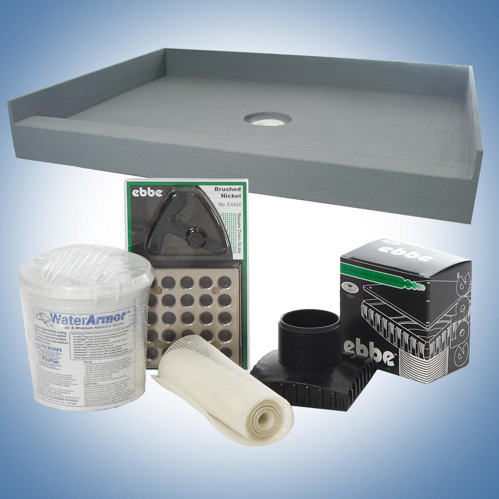 Mold In Shower Pan preformed® shower pans - finpan